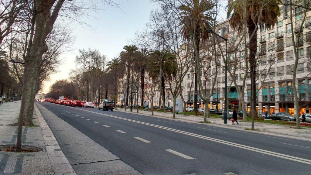 Avenida da Liberdade today