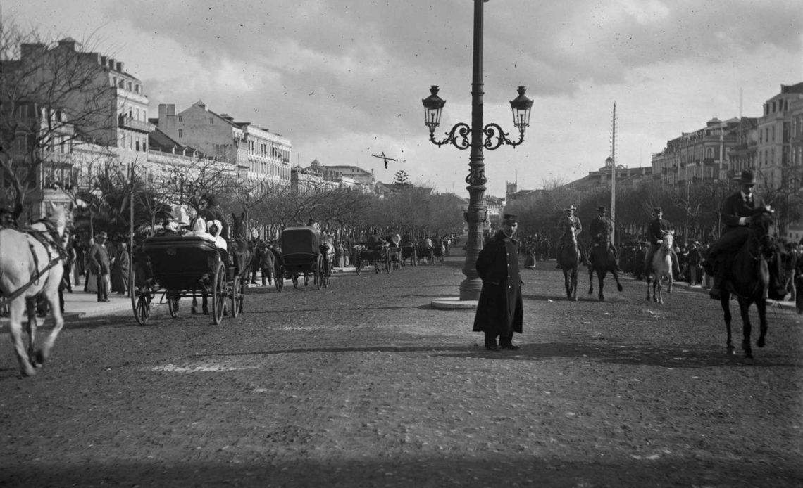 avenida da liberdade old